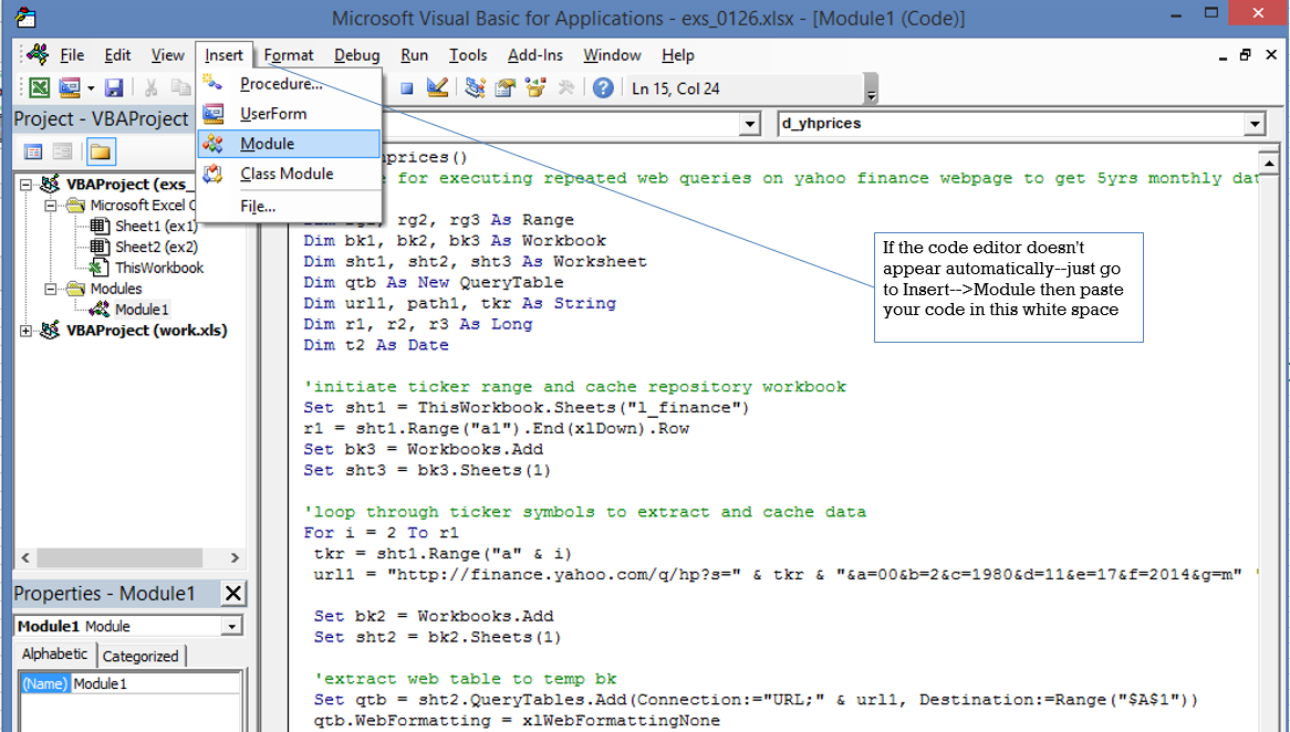 Excel VBA Web Scraping Tutorial | Analyze 6